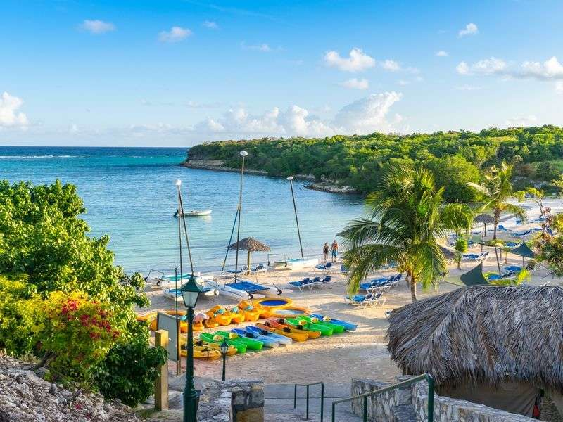 Beach of Antigua