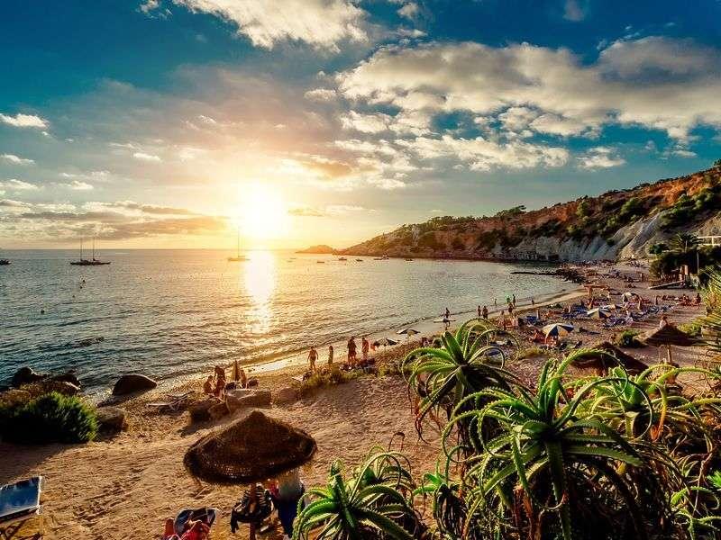 Beach of Ibiza