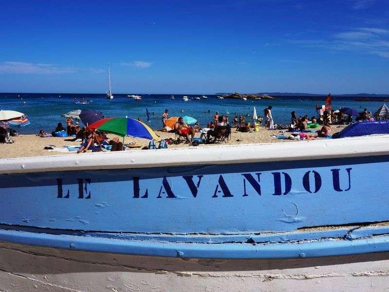 Beach of Le Lavandou