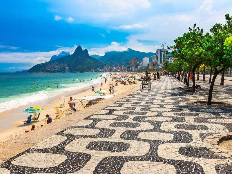 Beach of Rio de Janeiro
