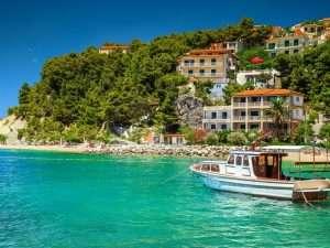 Boat in Makarska