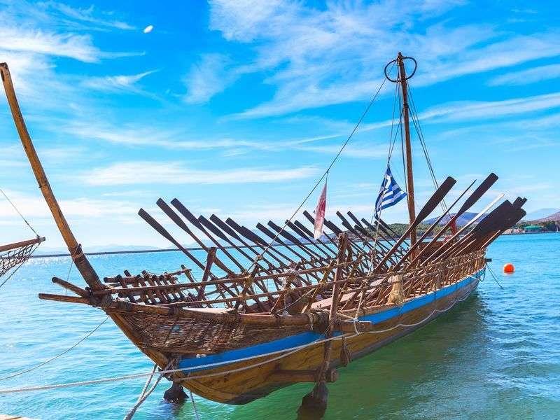 Boat in Volos