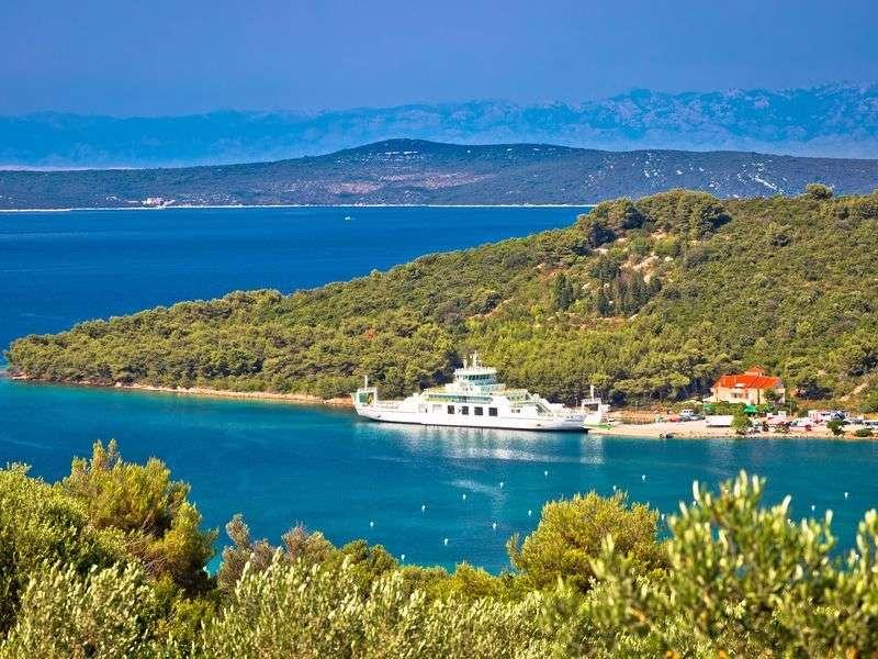 Coasts and islands in Zadar