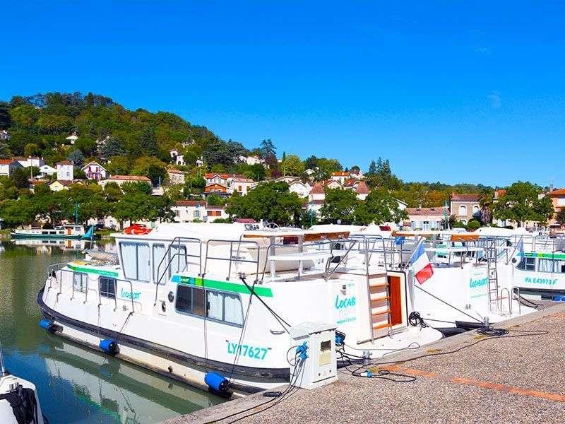 Boat tours Valence sur Baise