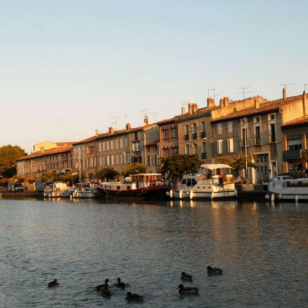 Boats in Castelnaudary
