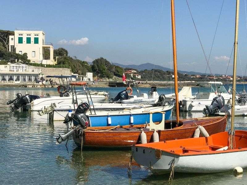Boats in Castiglioncello