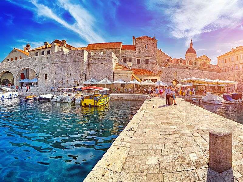 Boats in Dubrovnik