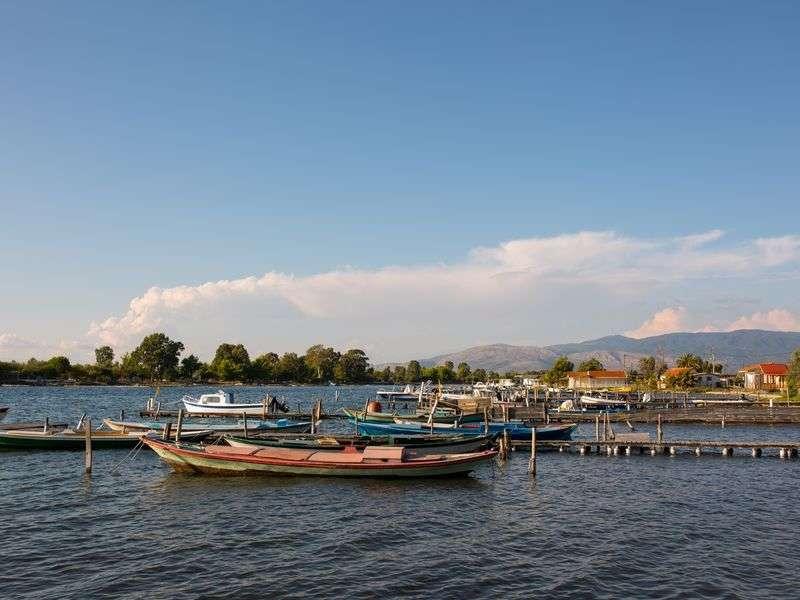 Boats in Messolonghi
