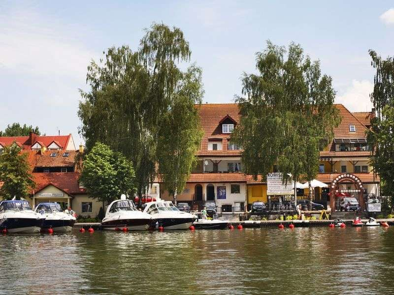 Boats in Mikolajki