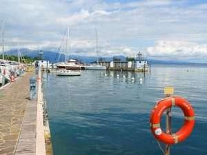Boats in Moniga del Garda