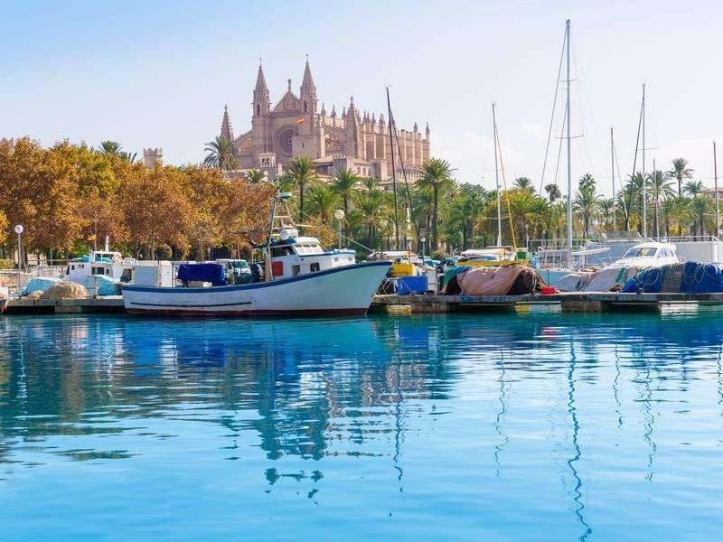 Boats in Palma de Mallorca