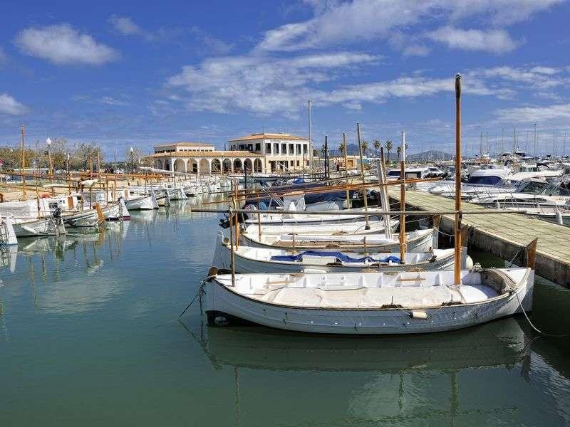 Boats in Port de Pollenca