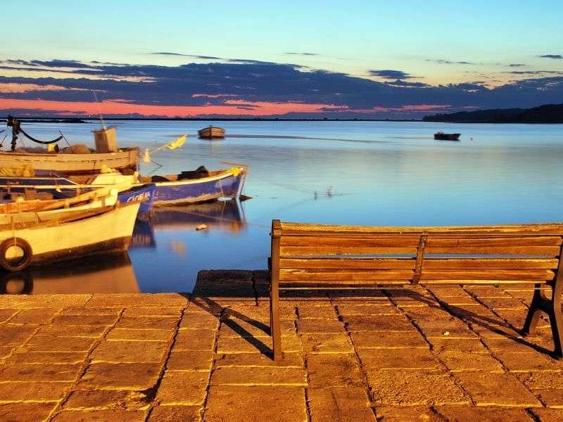 Boats in Porto Cesareo
