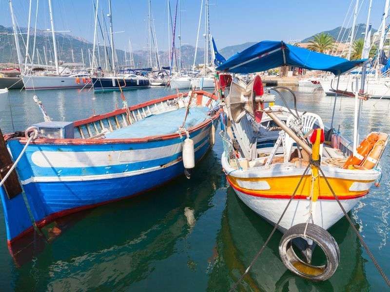 Boats in Propriano