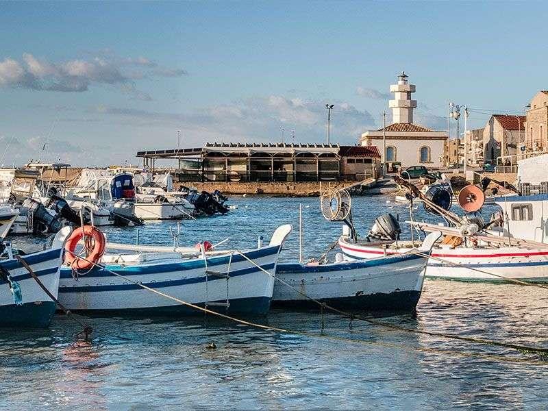 Boats in Ragusa
