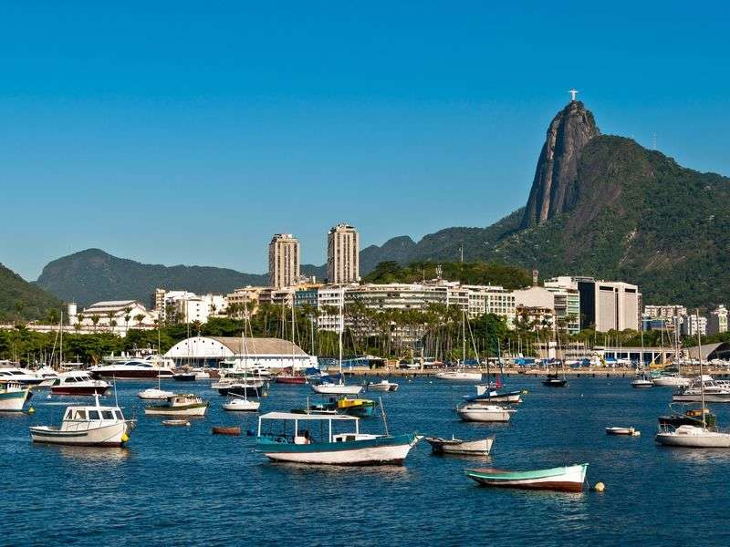 Boats in Rio de Janeiro