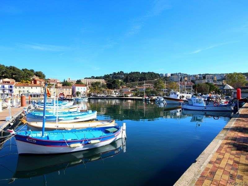Boats in Saint Mandrier sur Mer