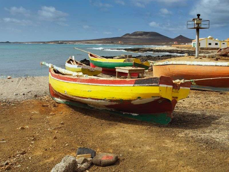 Boats in Sao Vicente