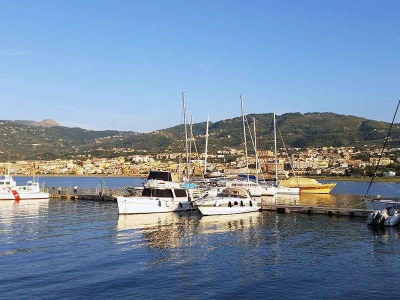 Boats in St Agata di Militello