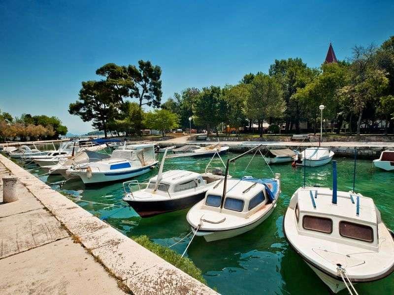 Boats in Trogir