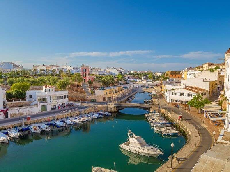 ports and islands in Ciutadella