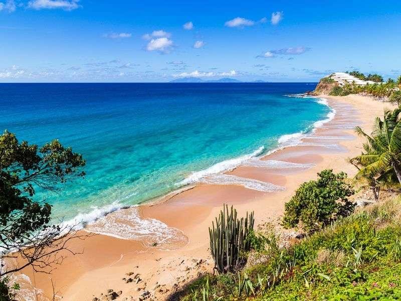 coasts in Antigua