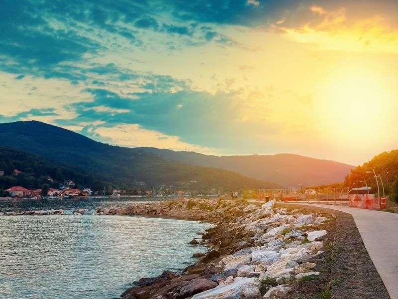 Coast of Bocca di Magra