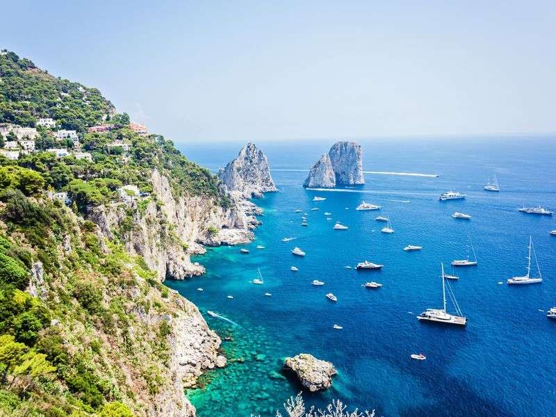 coasts and islands in Italy