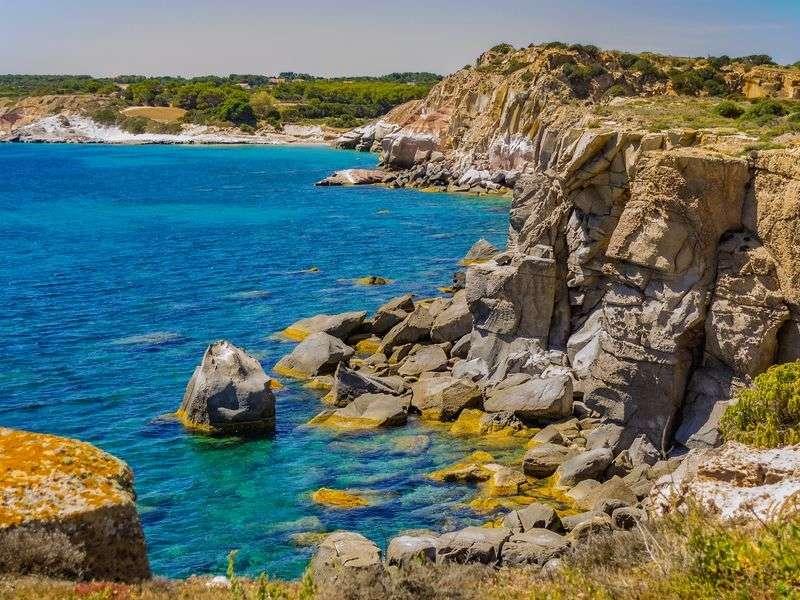 Coasts and islands in Sardinia