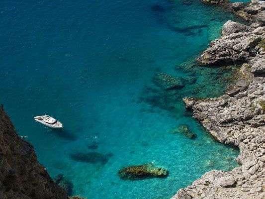 Coast of Castellammare di Stabia