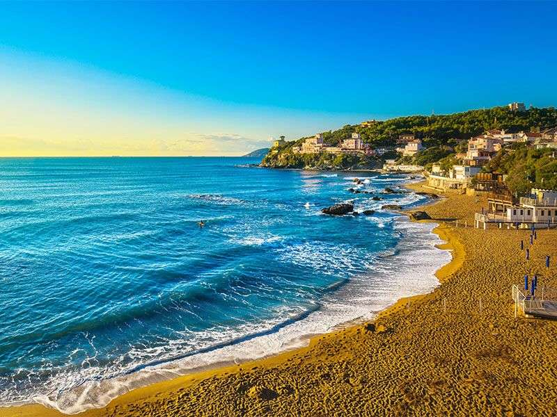 Coast of Castiglioncello