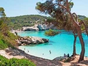 Coast of Ciutadella