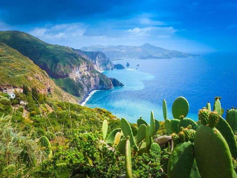 Coast of Lipari