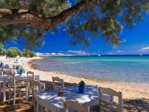 Coast of Paros