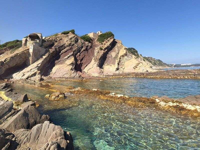 Coast of Saint Mandrier sur Mer