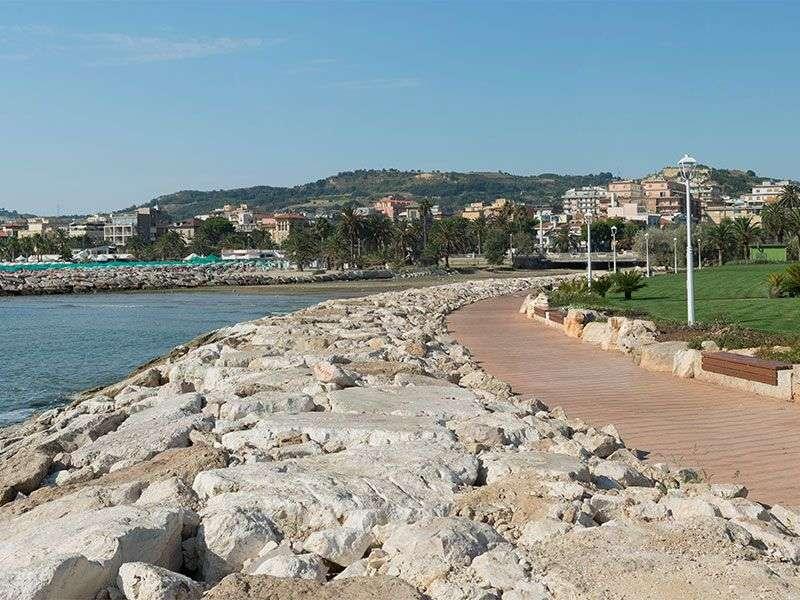 Coast of San Benedetto del Tronto
