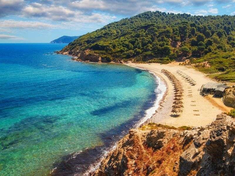 Coast of Skiathos