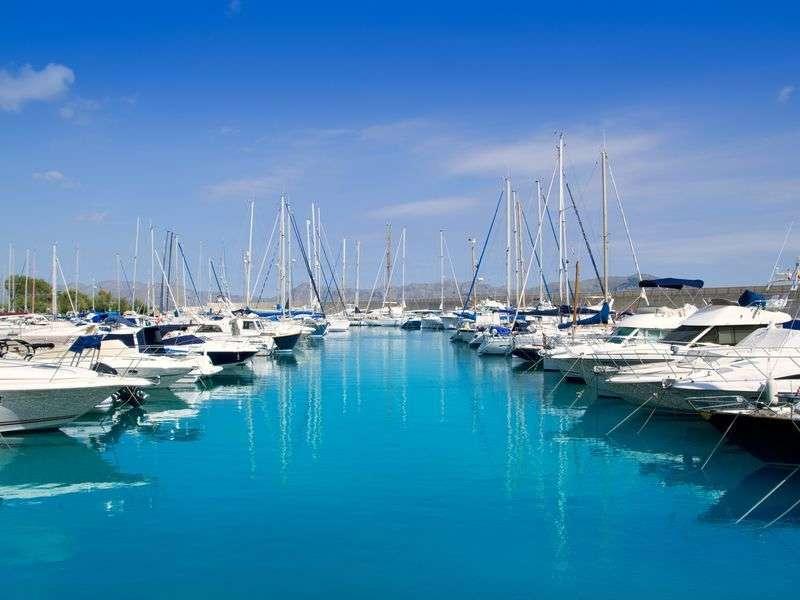 Marina in Alcudia