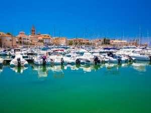 Marina in Alghero
