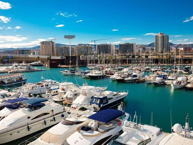 ports and islands in Barcelona