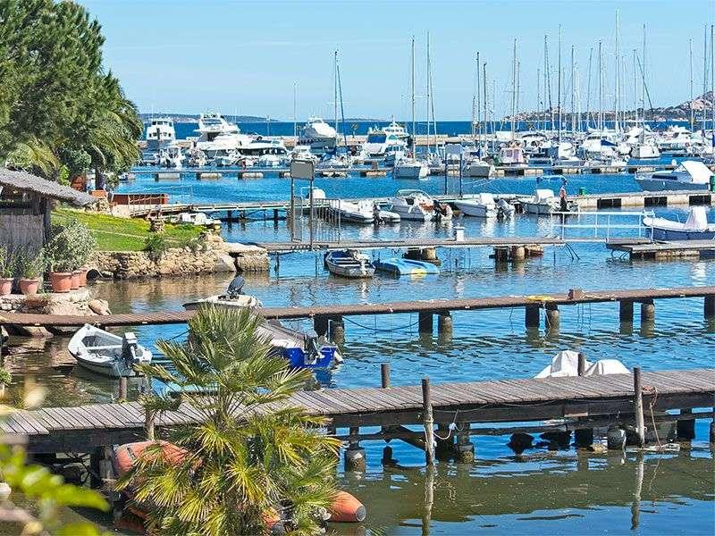 port in Costa Smeralda