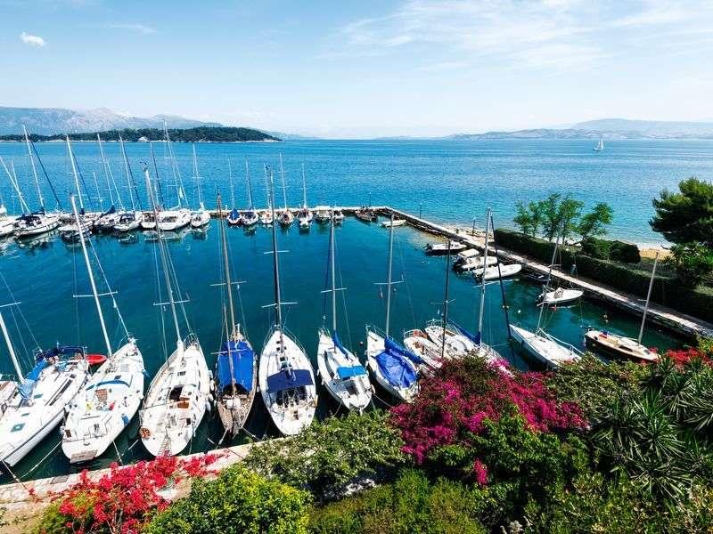 Marina in Corfu