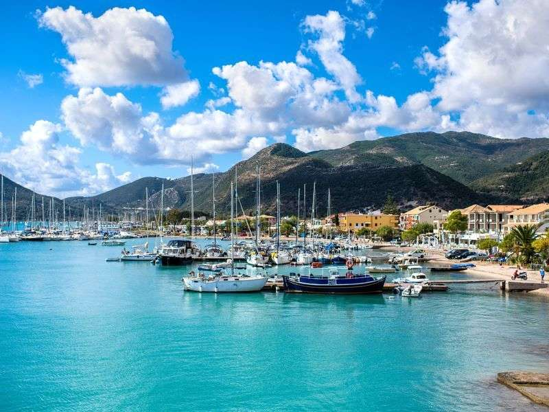 Marina in Lefkada