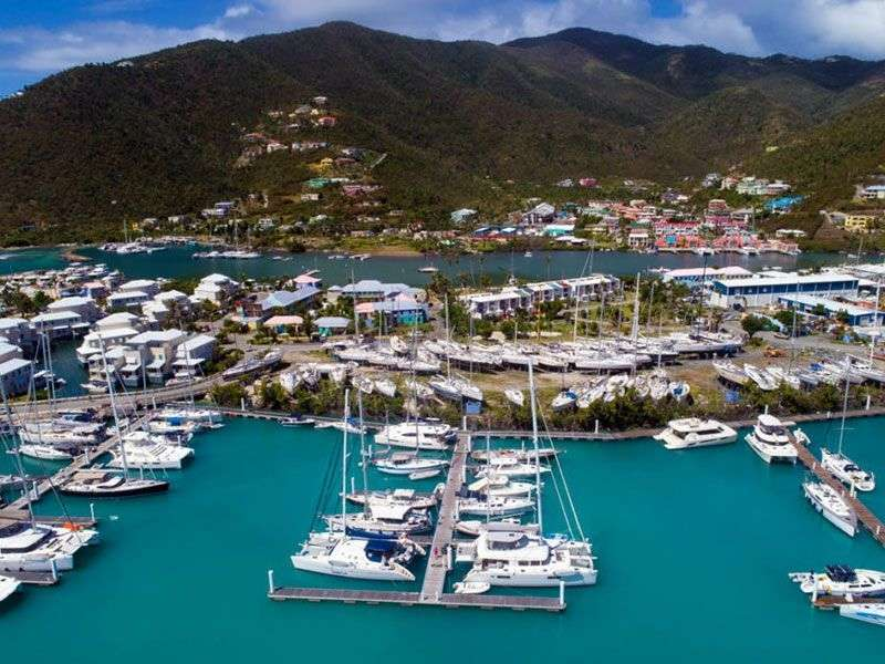Ports in the British Virgin Island