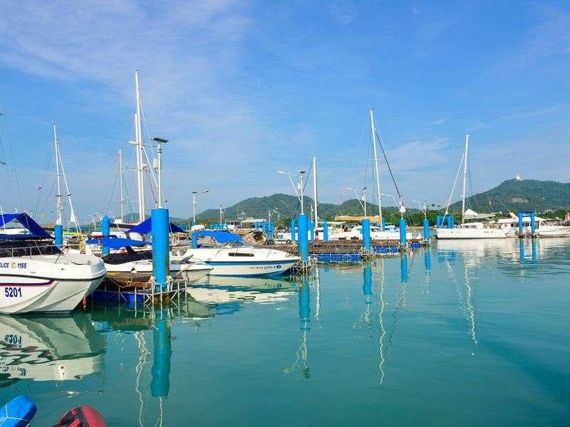 Marina in Phuket