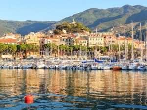 Marina in San Remo