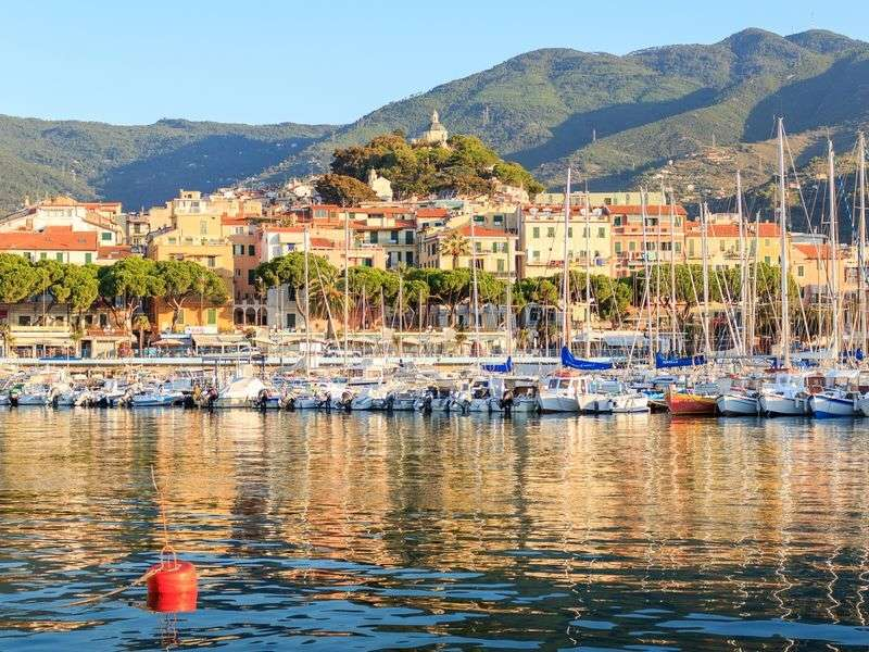ports and islands in Liguria
