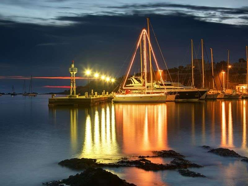 Marina in Syros