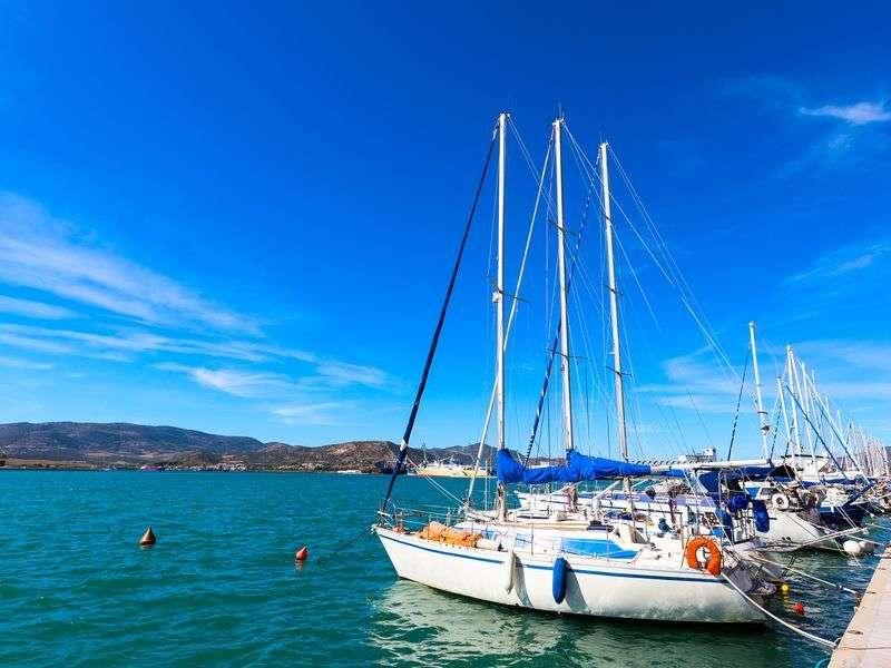 Marina in Volos