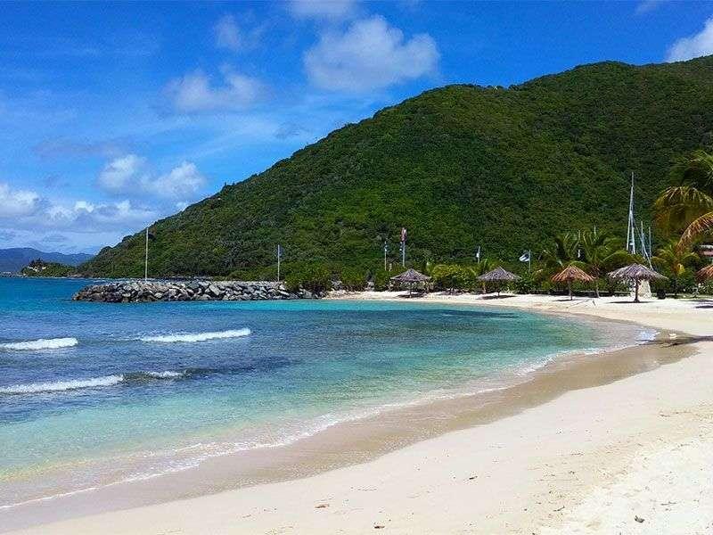 Nanny Cay bay